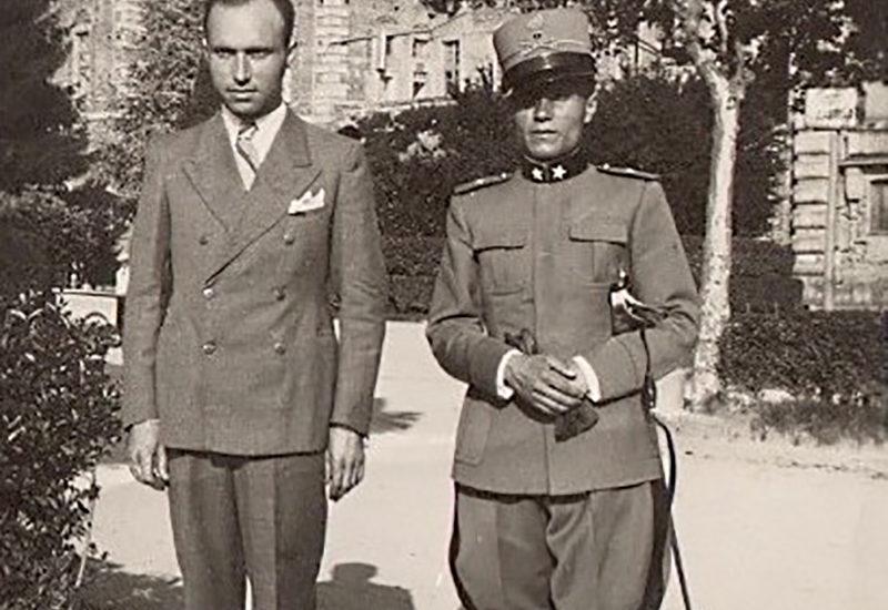 L'ufficiale italiano prigioniero nel deserto
