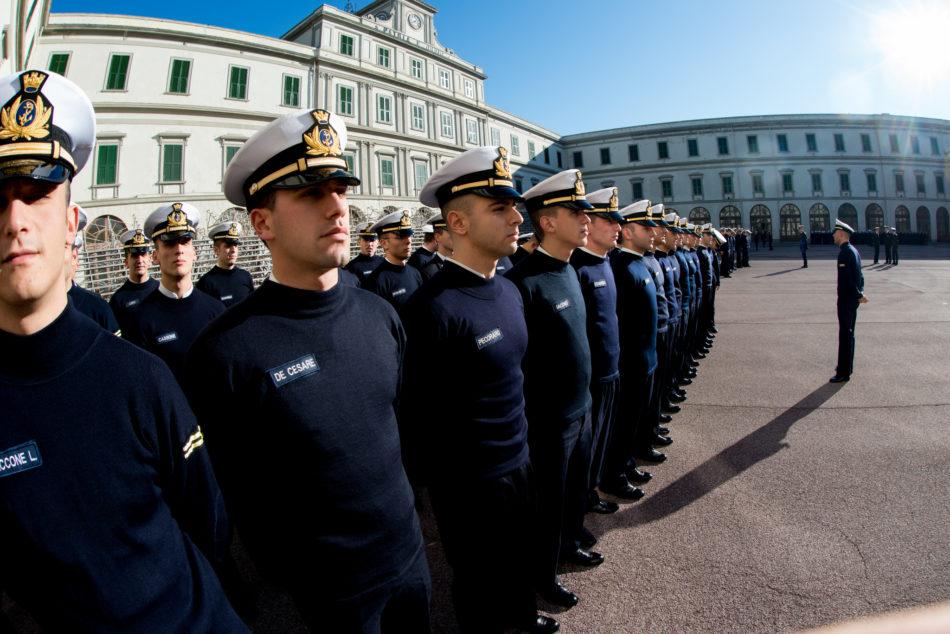 Allievi schierati a Livorno