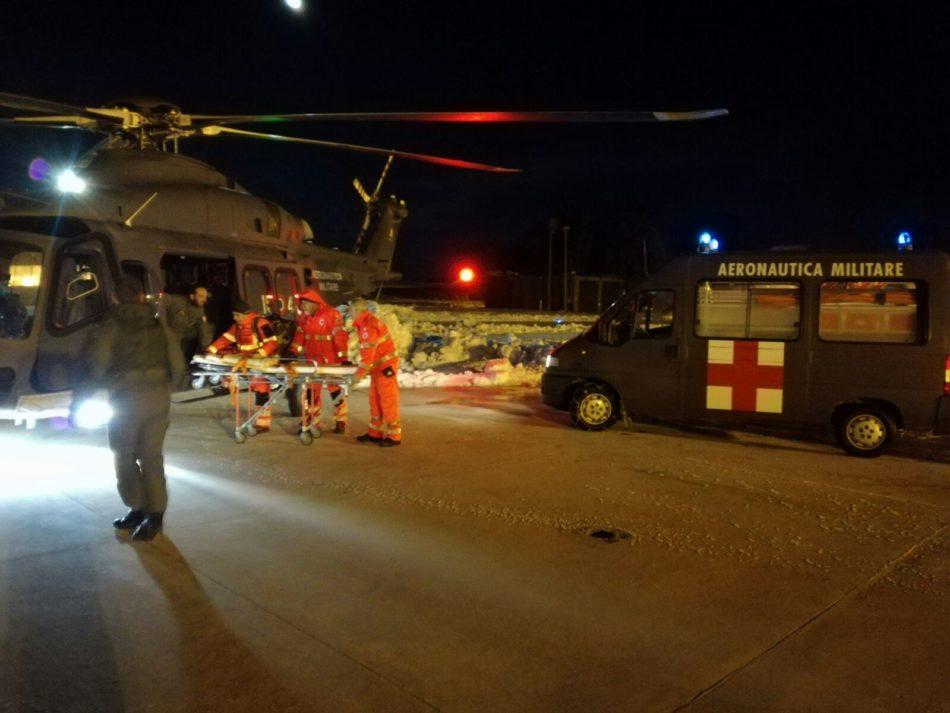 Gioia del colle intervento soccorso