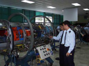 Studio all'accademia aeronautica