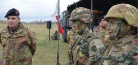 Esercitazione sul campo per gli Allievi Ufficiali dell'Accademia (foto Esercito Italiano)