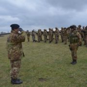 Esercitazione sul campo per gli Allievi Ufficiali dell
