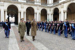 Giuramento Accademia militare (foto Esercito Italiano)