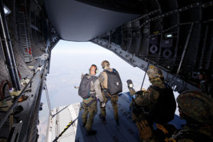 test paracadute