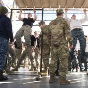 Prove Fisiche tra cadetti (U.S. Army photo by John Pellino)