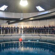 Uscire dal sommergibile in avaria (foto Marina Militare)