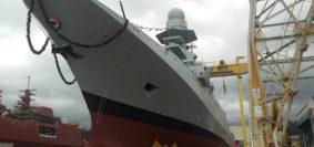 Varo fregata Martinengo (foto Marina Militare)