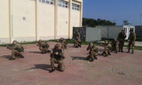 Force Protection per gli ufficiali di Marina (foto Marina Militare)