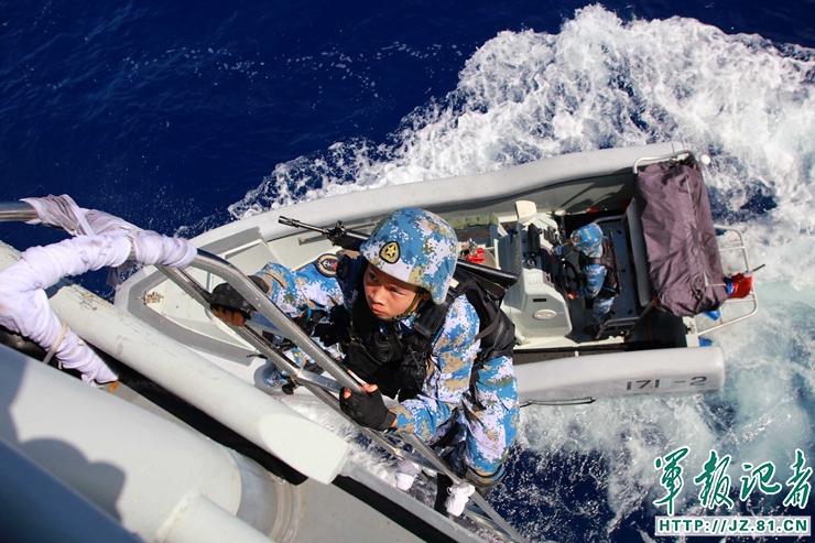 Marines Cinesi esercitazione (ph. China Military)