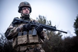il nuovo fucile d'assalto francese (foto Armée de Terre)
