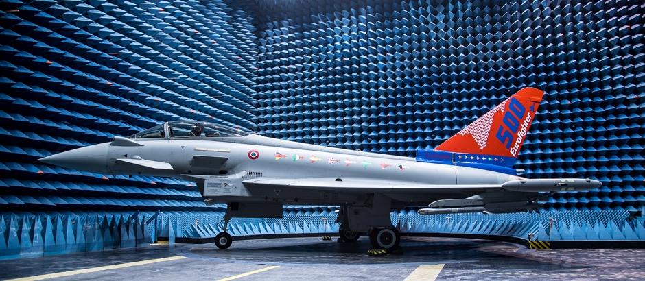 Eurofighter Typhoon n°500 (Foto Leonardo)