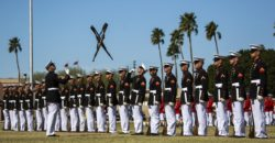 Silent Drill Marines (ph Marine Corps)