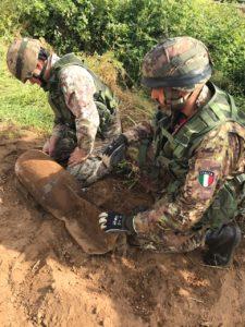 Eod squad (foto Esercito Italiano)