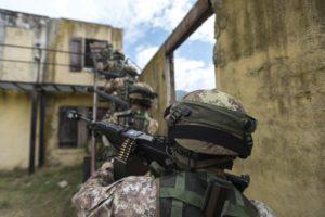 Esercitazione Una Acies (foto Esercito Italiano)
