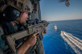 esercitazione marina (Foto Marina Militare)