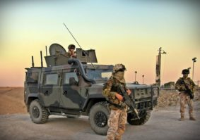 Militari italiani alla diga di Mosul (foto Stato Maggiore Difesa)