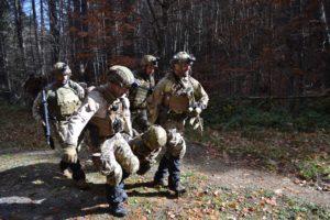 Marò Tercio de Armanda esercitazione Woodex (Foto Marina Militare)