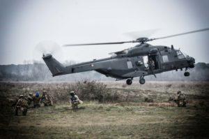 Elicotteri in volo per la brigata Friuli (Foto Esercito Italiano)