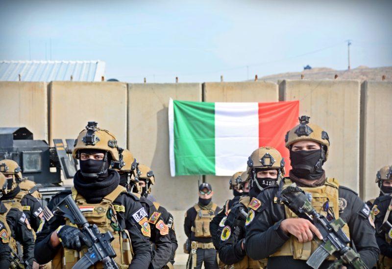 Mosul, alpini brigata sassari (foto Stato Maggiore Difesa)