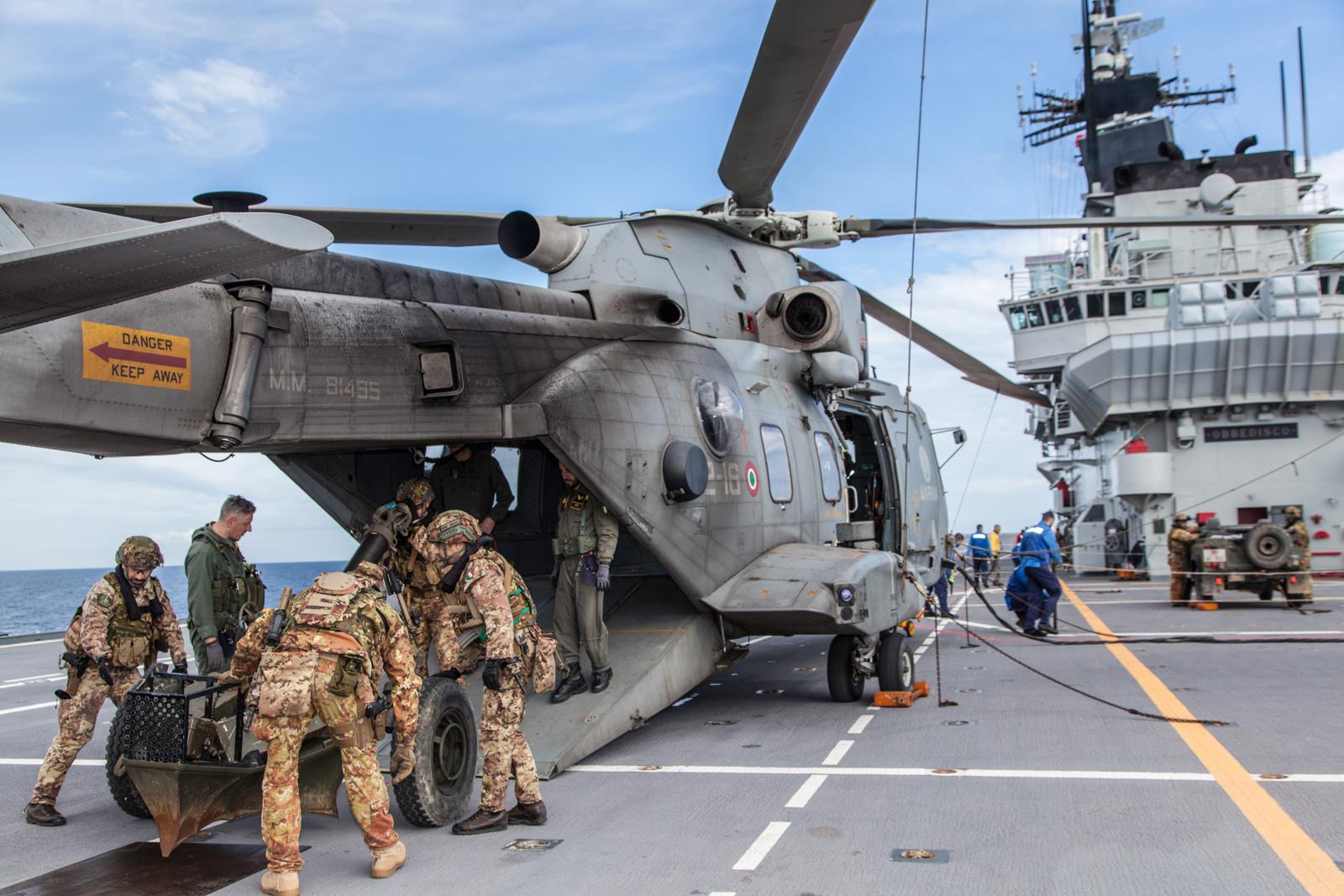 Calendario Marina Militare 2020.Esercitazione In Mare Per La Squadra Navale Armymag