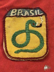 Distintivi della Forza di spedizione Brasiliana Brasileira Feb militaria II guerra mondiale Giovanni Sulla