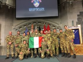 militari italiani a west point (foto Esercito Italiano)