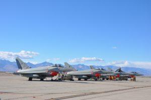 Blazing Shield per l'Aeronautica militare (foto Aeronautica Militare)