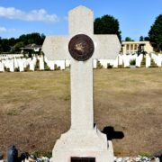 d-day war cemetery at Ranville