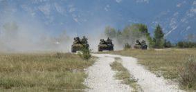 Genova cavalleria in esercitazione (foto Esercito italiano)