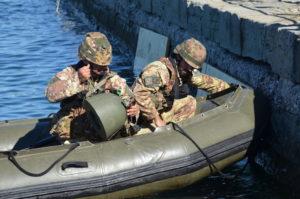 addestramento per il 3° genio esercito italiano