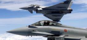 Eurofighter in azione (Foto Aeronautica Militare)