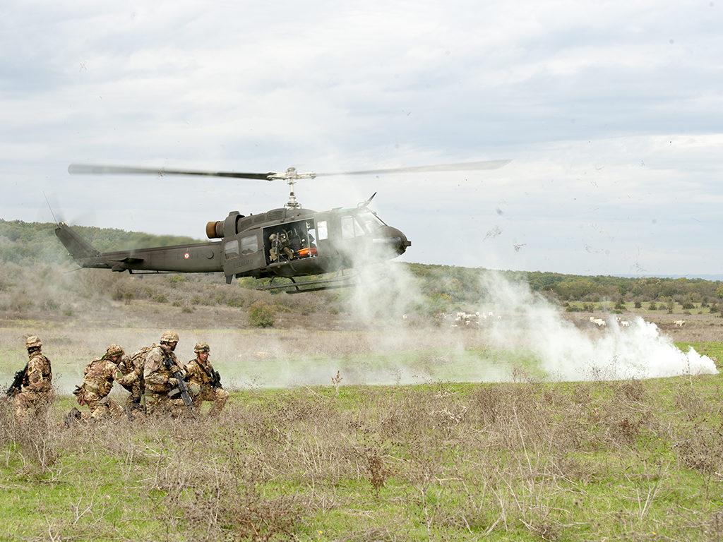 Caex 2018, Aviazione dell'esercito