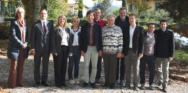 Il team di lavoro dell'Università di Firenze progetto Nato sminamento umanitario