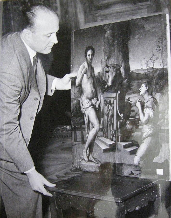 Rodolfo Siviero il monument man italiano