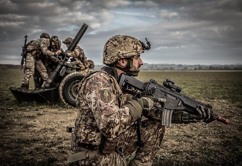 Esercitazione Mangusta Brigata Folgore (Foto Stato Maggiore Difesa)