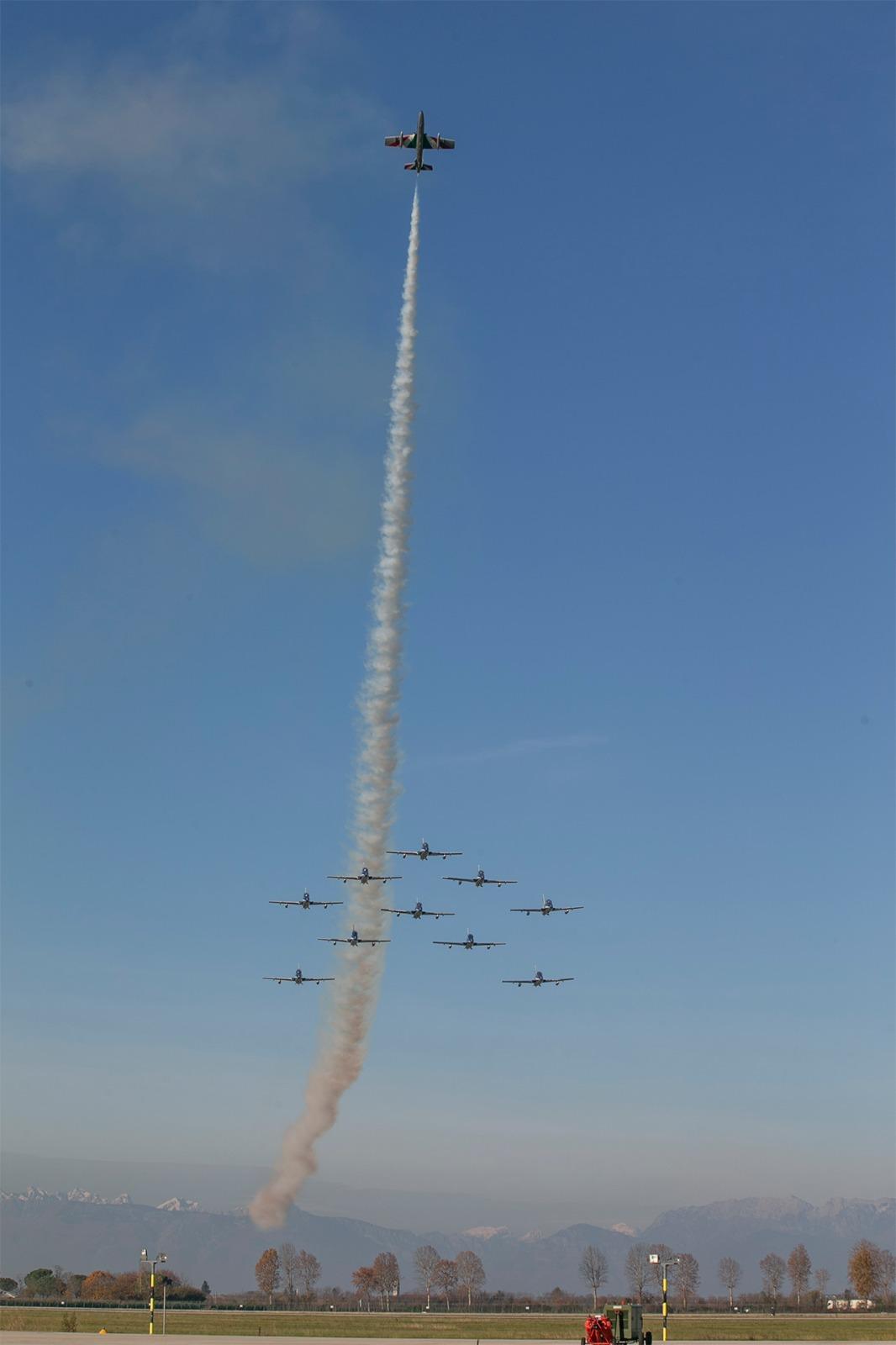 frecce tricolori (foto Aeronautica militare)
