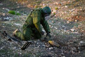 Artificieri italiani al lavoro in Libano Eod squad