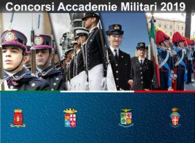 manifesto concorso accademia militare 2019