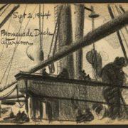 Gli schizzi di guerra di Victor Lundy; war sketchbooks (Library of Congress)