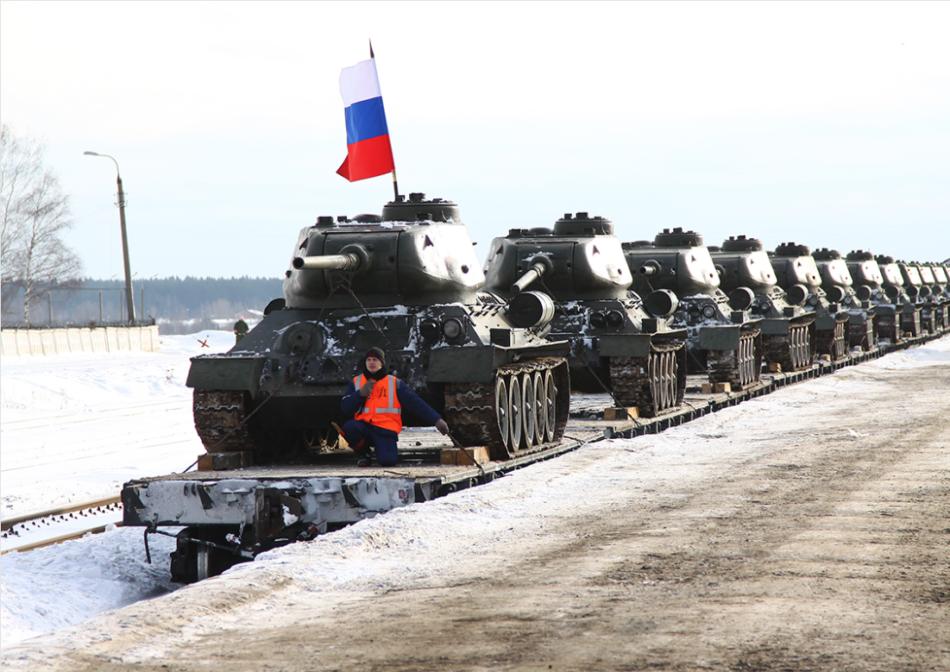 Il Laos regala 30 carri T34 alla Russia (foto Esercito russo)