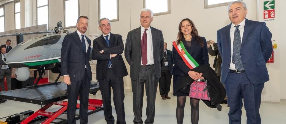 Leonardo, fabbrica Pisa di Awhero drone