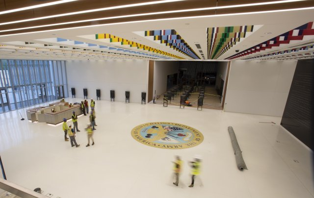 Il museo dell'Us Army (foto Us Army)
