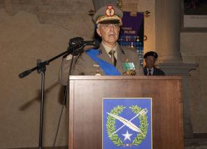 il colonnello Paolo Costanzo direzione di amministrazione dell'esercito
