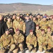 Foto di gruppo con Ministro Pinotti, gen. Errico, gen Del Sette