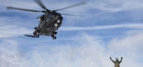 L'AM E LA US AIR FORCE SI ADDESTRANO INSIEME SULLE DOLOMITI (foto Aeronautica Militare)