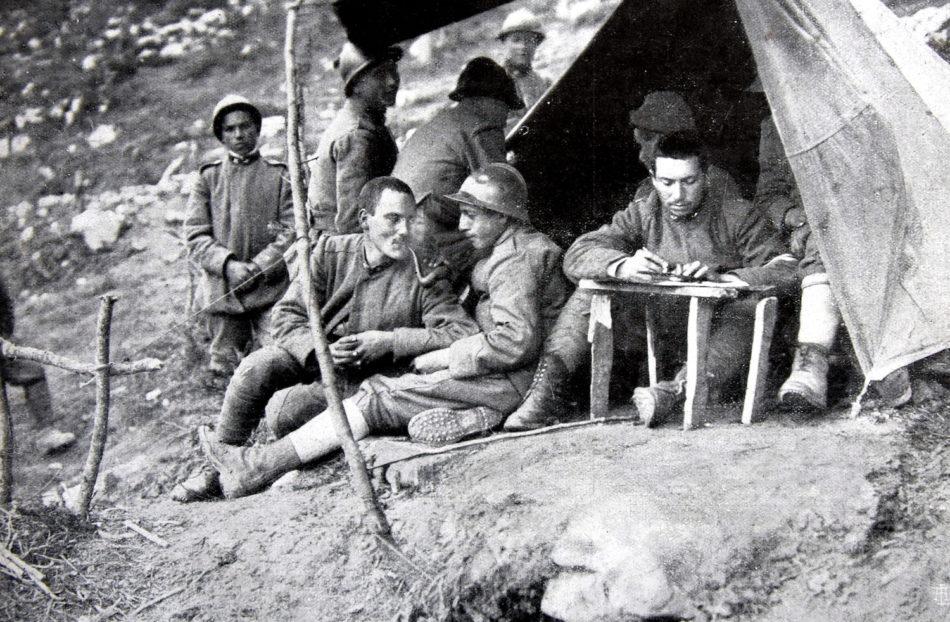 I periodici della prima guerra mondiale