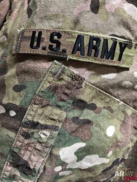 la divisa Scorpion II OCP Us Army