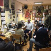 La delegazione di Gotica Toscana a Kirov