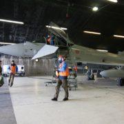 Missione Northern Ice Eurofighter (Foto Aeronautica Militare)