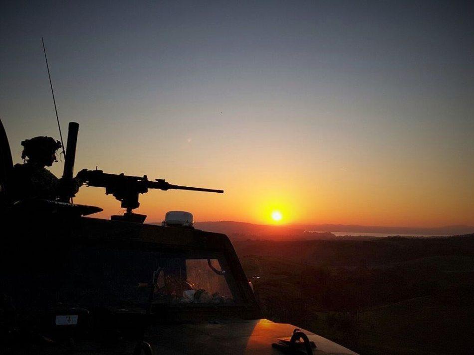Esercitazioni Sagittario e Capricorno (foto Esercito Italiano)